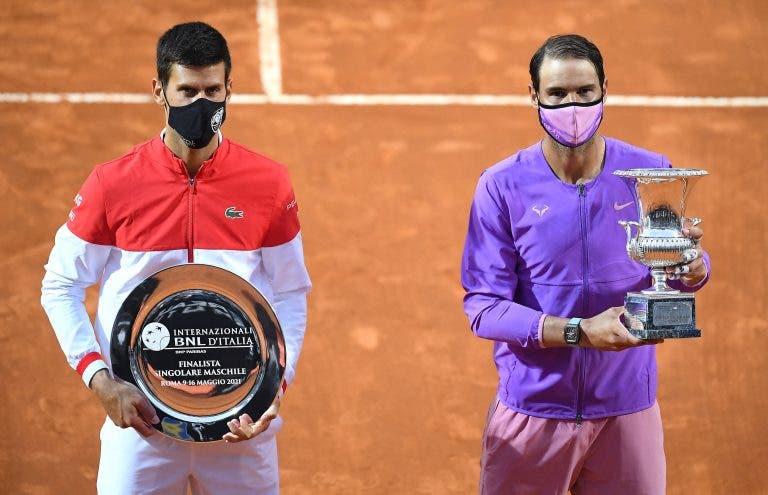 Rafa Nadal iguala Novak Djokovic em estatística bem peculiar