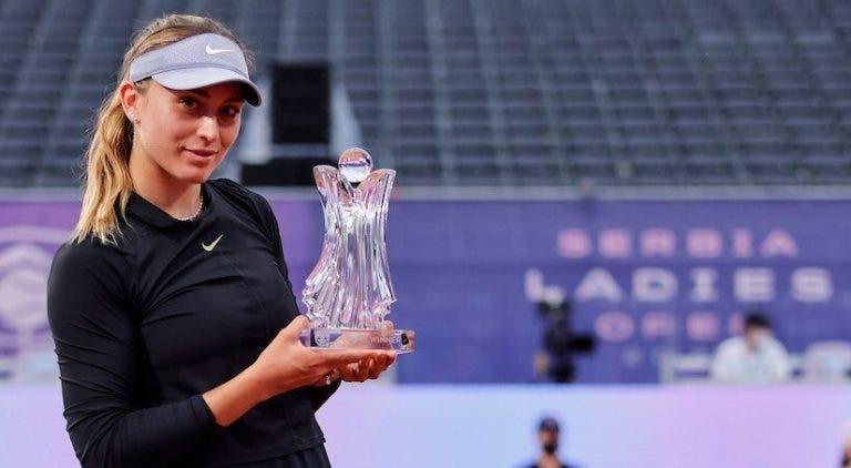 Badosa conquista primeiro título da carreira em Belgrado