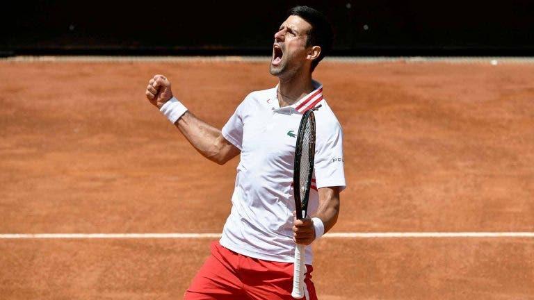 Djokovic: «Sinto que fizemos dois encontros. Foi o meu jogo mais difícil de 2021»