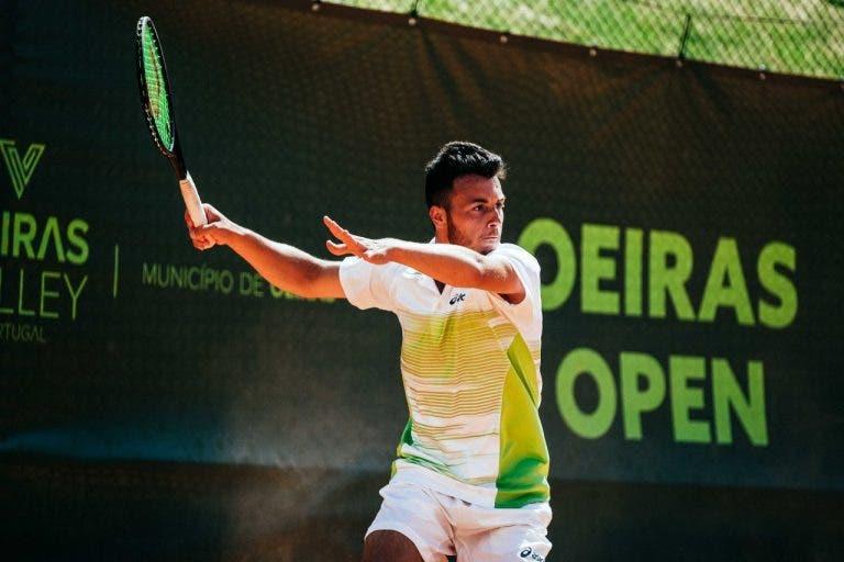 Coelho, Faria e Stoliar perdem na segunda ronda em Setúbal