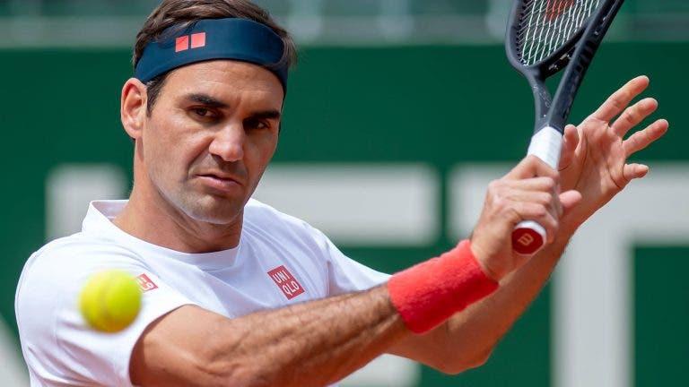 Federer tem quadro muito difícil no regresso à relva em Halle