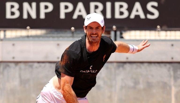 Murray ainda tem dores e não vai a Roland Garros