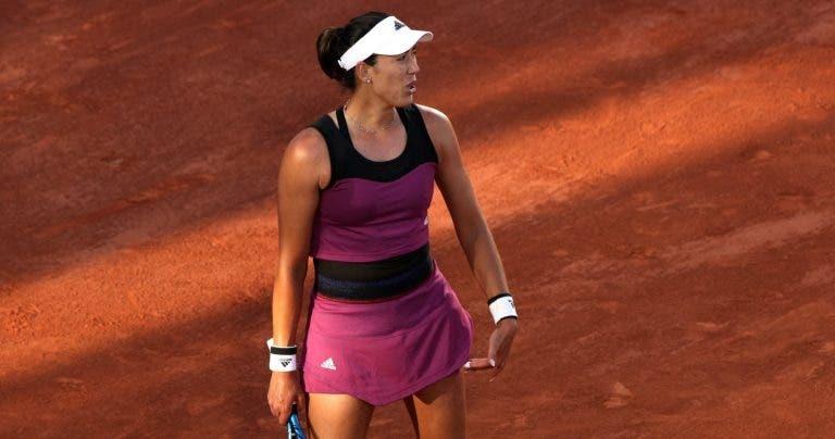 Ex-campeã Muguruza sai de cena na primeira ronda de Roland Garros
