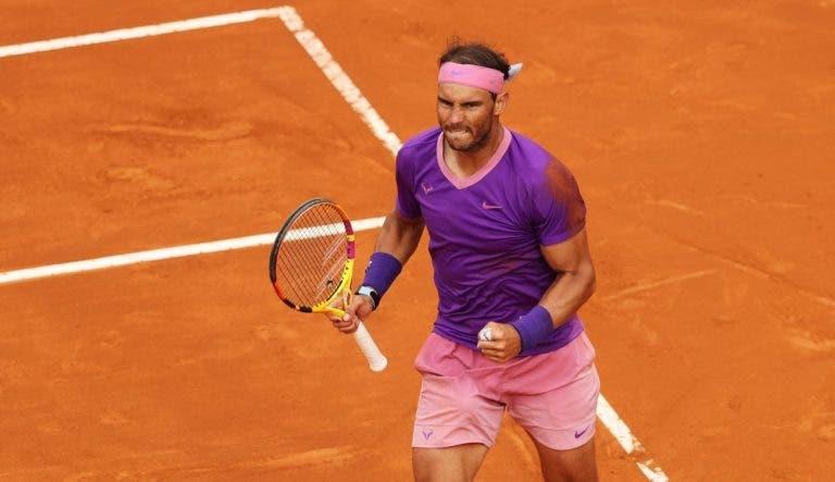 Rafa Nadal bate Novak Djokovic e conquista Roma pela 10.ª vez