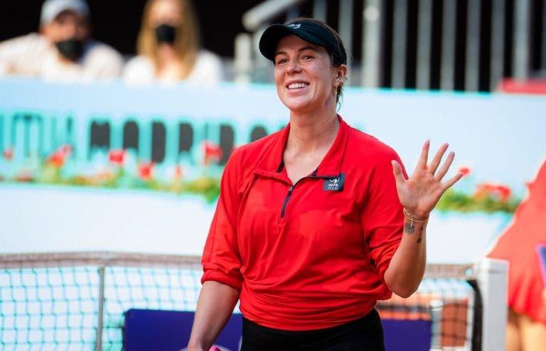 Pavlyuchenkova faz tempo andar para trás e volta às 'meias' de um WTA 1000… onze anos depois!