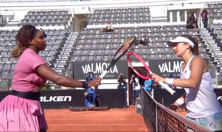 Serena regressa com derrota no encontro 1000 da sua carreira