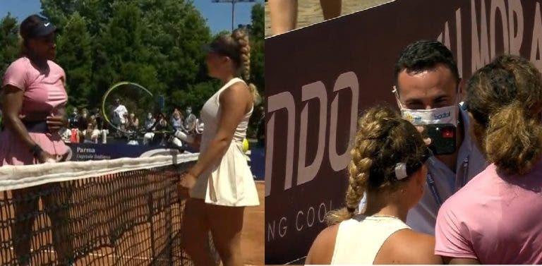 Serena entra a ganhar em Parma e adversária pede-lhe uma foto no final