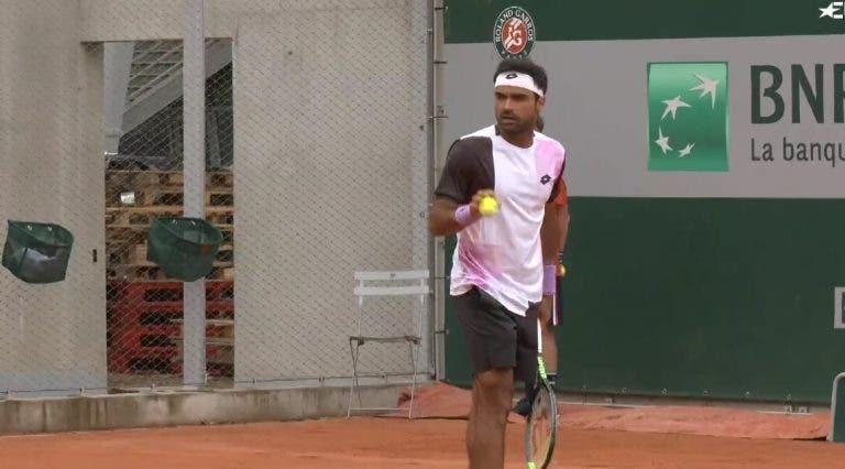 Frederico Silva eliminado no qualifying de Roland Garros