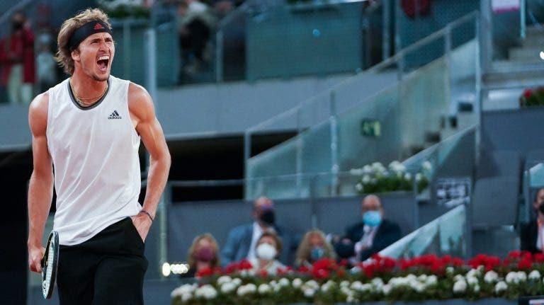 Zverev conquista quarto Masters 1000 da carreira com segundo título em Madrid