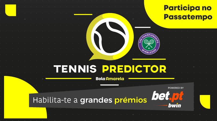 Wimbledon 2021 Tennis Predictor: participa no passatempo e ganha prémios!