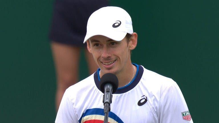 De Minaur garante nona final da carreira (e primeira em relva) contra rival de Pedro Sousa em Wimbledon