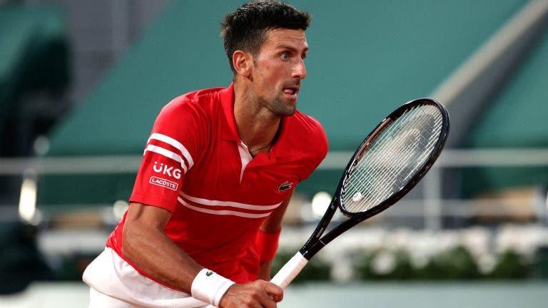 Djokovic diz que não treinou na véspera da final de Roland Garros