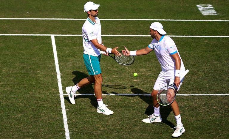 Djokovic atinge a terceira final de pares da carreira (!) em Maiorca
