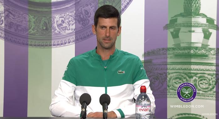 Djokovic: «Pedi informações ao Sinner sobre o Jack Draper»