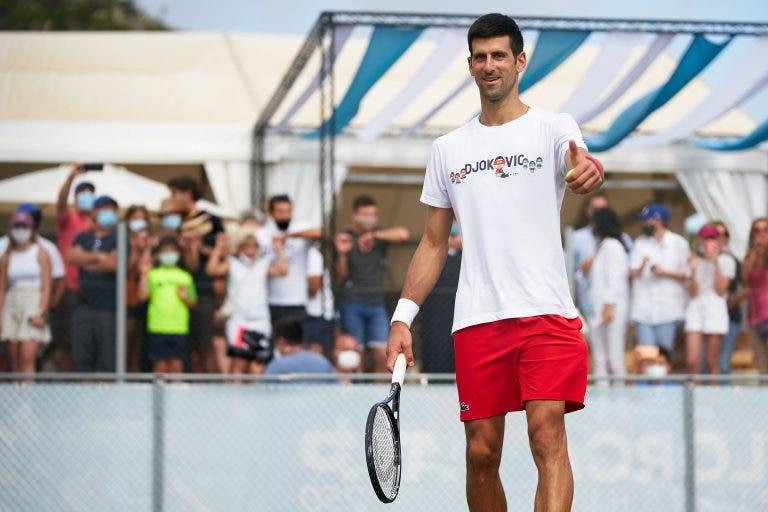 Djokovic, Thiem e Medvedev jogam esta terça-feira em Maiorca