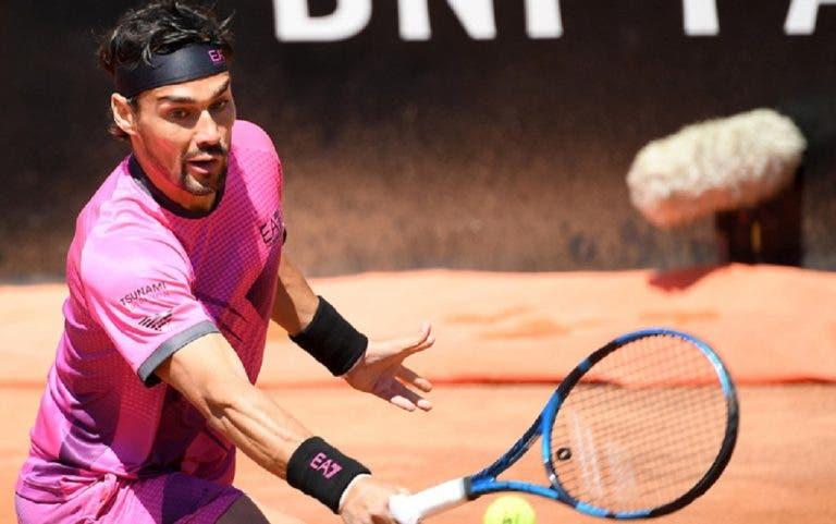 Fognini sonhava muito com Roland Garros mas acaba arrasado por Delbonis