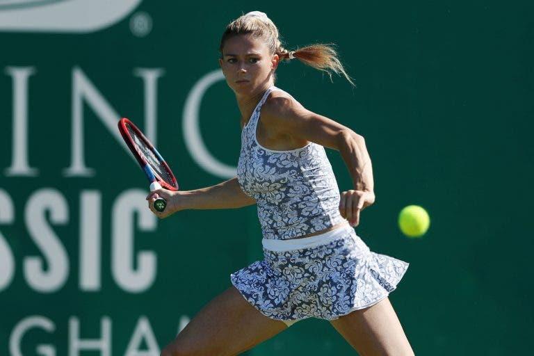 Giorgi atira Pliskova para fora do top 10, Svitolina e Andreescu sobrevivem em Eastbourne