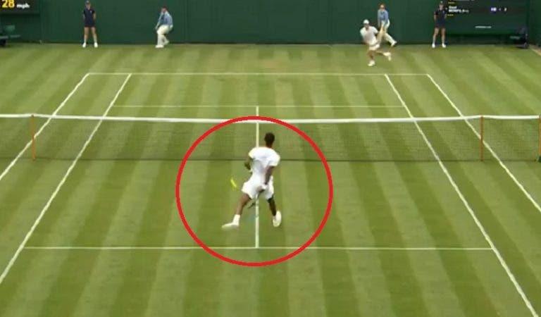 [VÍDEO] Incrível: Monfils fez das suas no regresso a Wimbledon