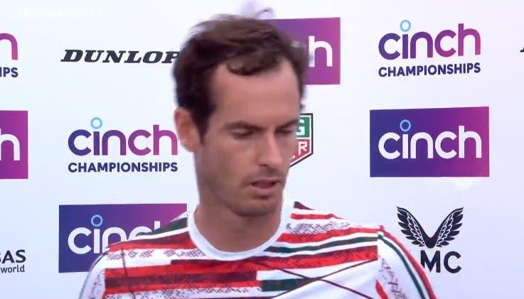 [VÍDEO] Andy Murray não aguenta e chora após volta às vitórias: «Desculpem-me»