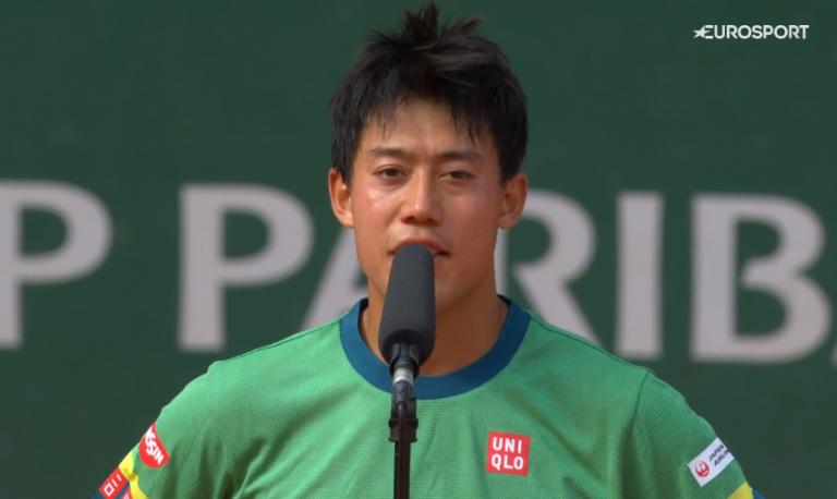 Nishikori: «Juro que não gosto de jogar quintos sets»