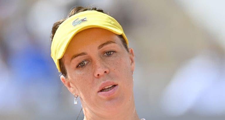 Pavlyuchenkova diz que jogou com sérios problemas físicos desde a 3.ª ronda