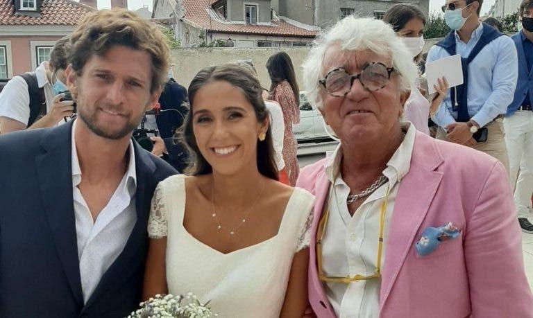 Pedro Sousa casou em Lisboa com parte da 'família' do ténis português presente