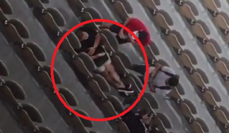 [VÍDEO] Adeptos esconderam-se para não serem expulsos em Roland Garros
