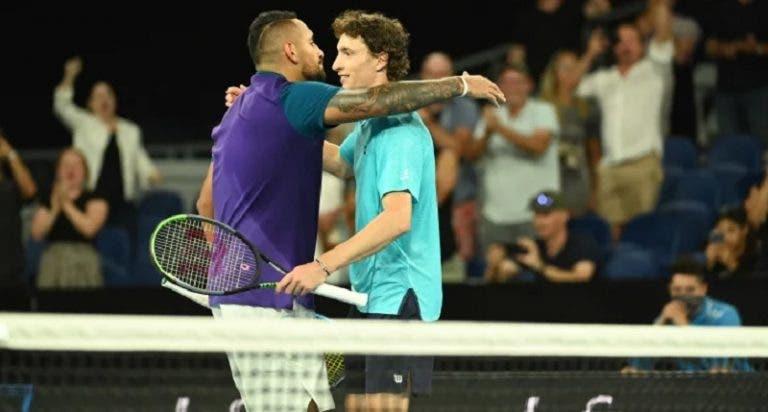 Kyrgios e Humbert antecipam duelo de Wimbledon… no Instagram