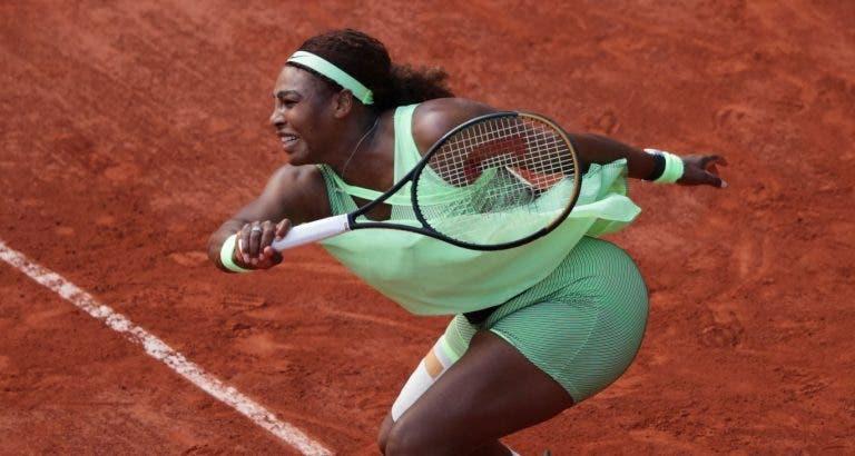 Serena Williams eliminada por Rybakina em Roland Garros