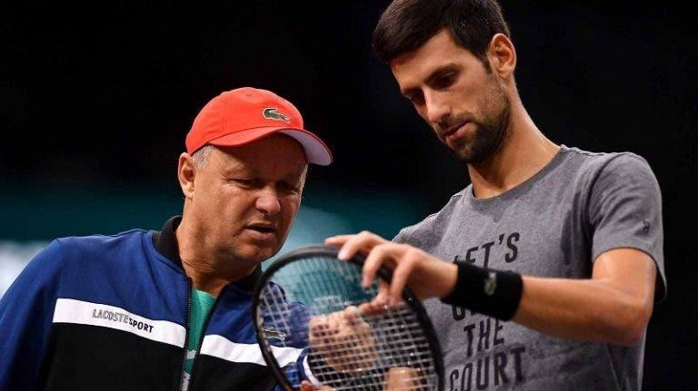 Vajda: «O objetivo é que o Djokovic vença todos os Grand Slams e os Jogos Olímpicos em 2021»