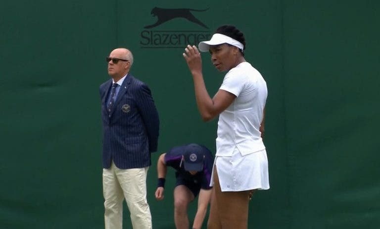 Venus Williams inicia o seu 90.º Grand Slam com vitória em Wimbledon