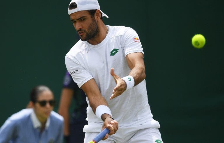 Berrettini confiante: «Estou a jogar o melhor ténis da minha carreira»