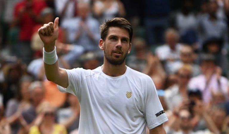 Norrie continua a impressionar em Wimbledon; Berrettini e Garin também seguem em frente