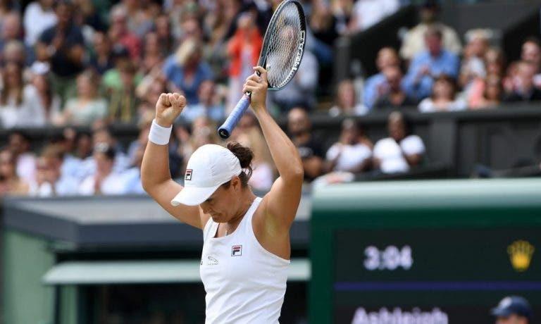 Barty vence Pliskova em enorme final de Wimbledon e conquista segundo Grand Slam da carreira