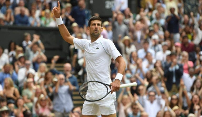 [VÍDEO] O momento em que Djokovic conquistou o seu 20.º Grand Slam
