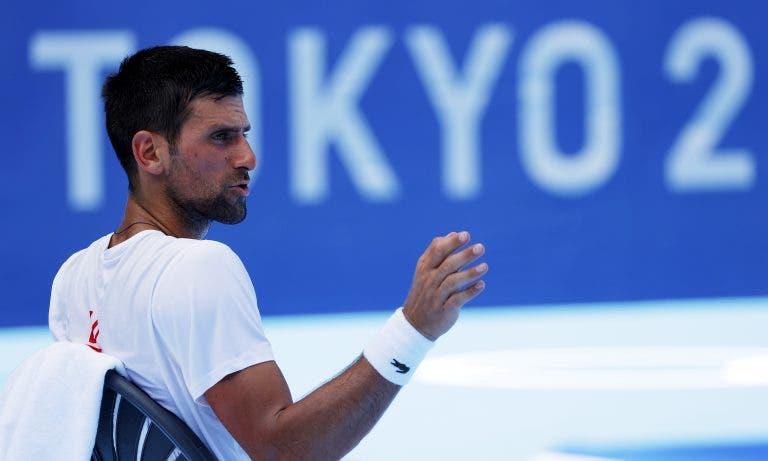 Djokovic: «Venci três Grand Slams… melhor preparação para os Jogos Olímpicos é impossível»