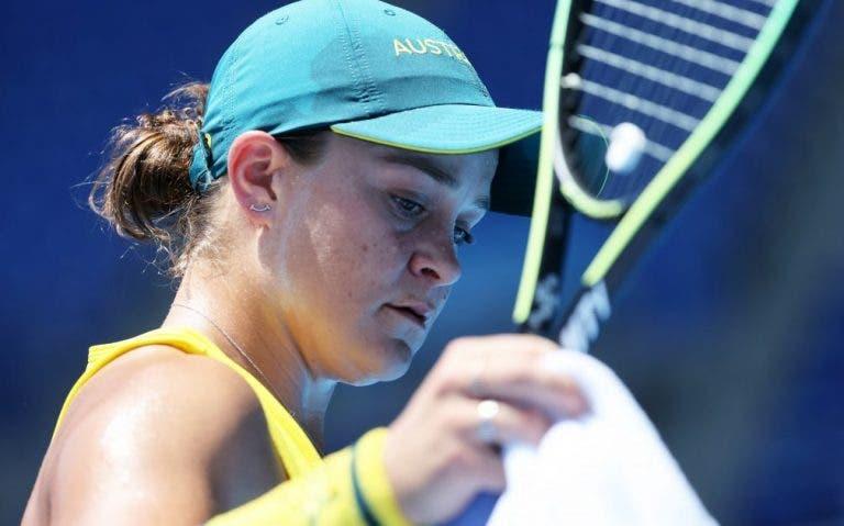 Barty é a primeira grande baixa do WTA 1000 de Montreal