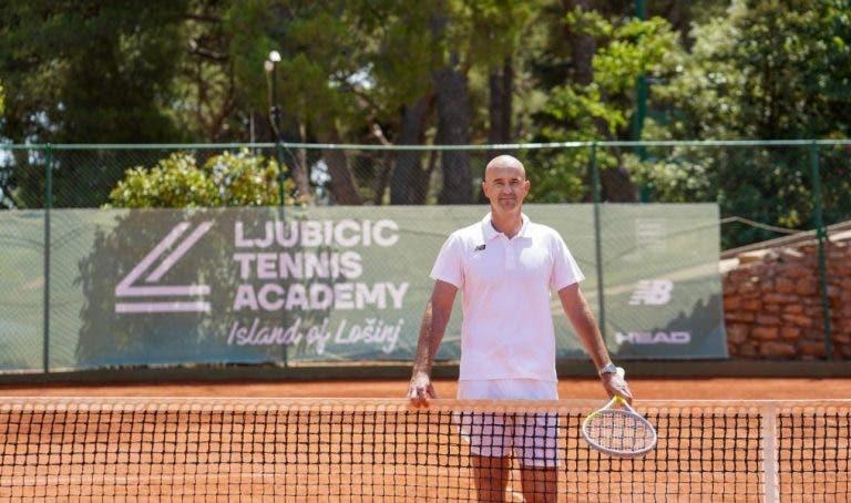 Ljubicic concretiza sonho e inaugura a sua própria academia de ténis na Croácia