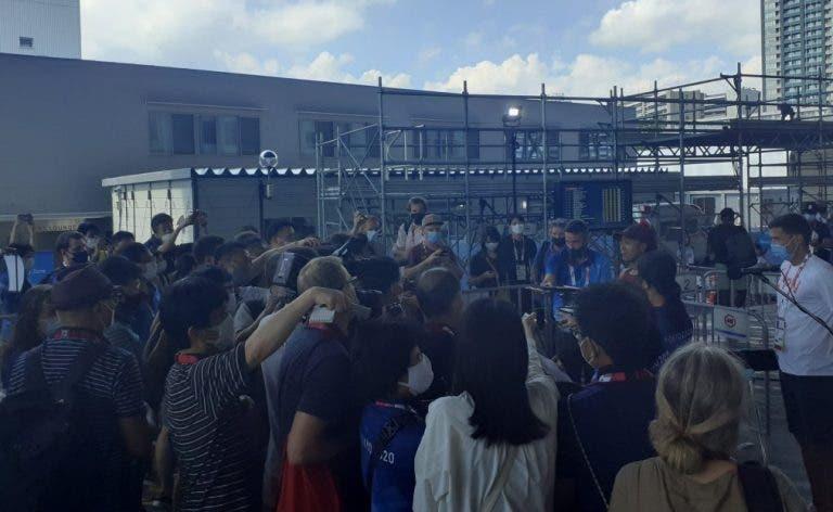 Osaka volta a falar com jornalistas depois do boicote mas… apenas por um minuto