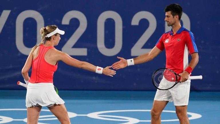 Djokovic em dose dupla e as primeiras lutas pelas medalhas: a ordem de jogos de sexta-feira