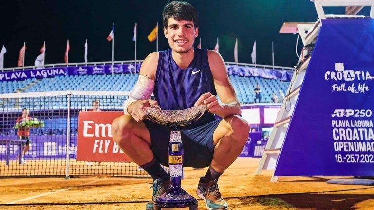 Nadal felicita Alcaraz pela conquista do primeiro título ATP da carreira
