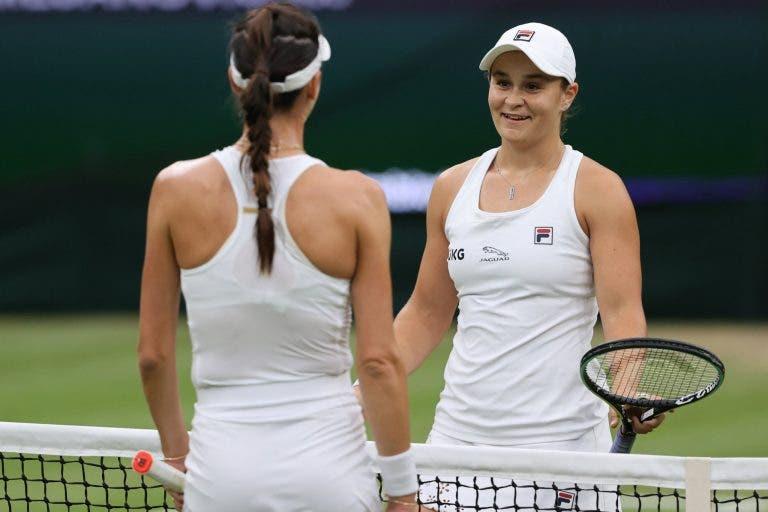 Barty rendida a Wimbledon: «Ser campeã aqui é um sonho que tenho desde criança»