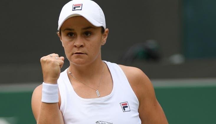 Top 10 WTA vai sofrer revolução depois de Wimbledon mas Barty não sai do topo