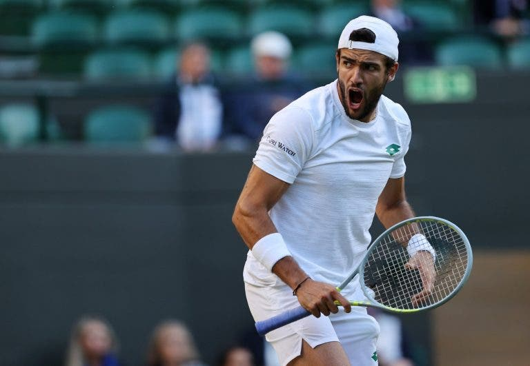 Berrettini supera amigo Auger-Aliassime e luta com Hurkacz por final inédita em Wimbledon