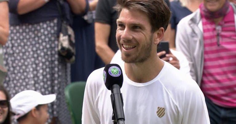 Norrie: «Se há altura boa para defrontar Federer é agora, mas ainda é um jogador decente…»