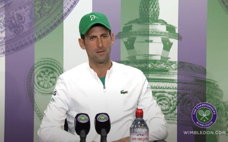 Djokovic revela que jogou com dores de estômago e tonturas frente a Shapovalov