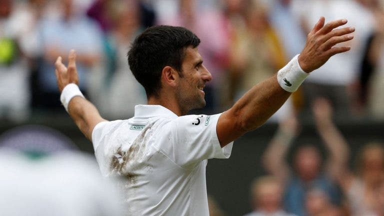 Como fica o top 10 ATP depois do título de Djokovic em Wimbledon