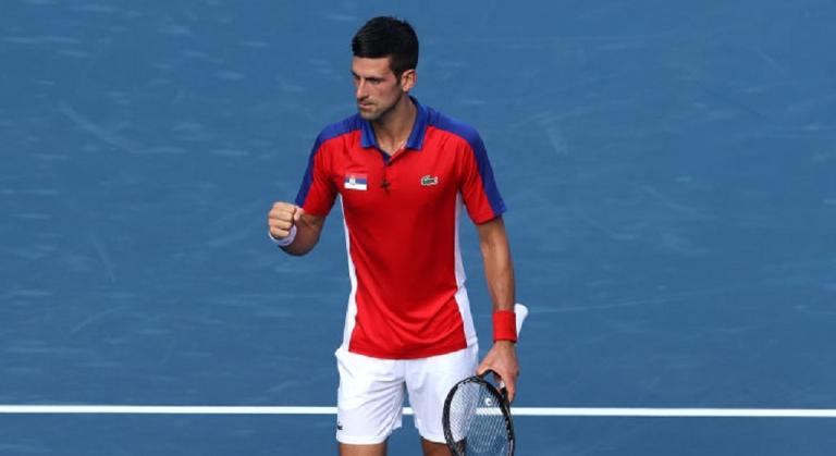 Djokovic despacha Struff e caminha de olhos postos no ouro nos Jogos Olímpicos
