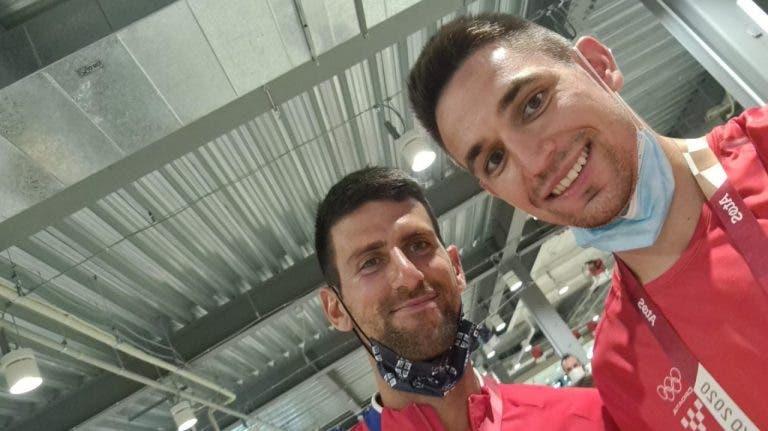 Djokovic é a estrela da aldeia olímpica: «Já deve ter tirado umas 5000 fotografias!»