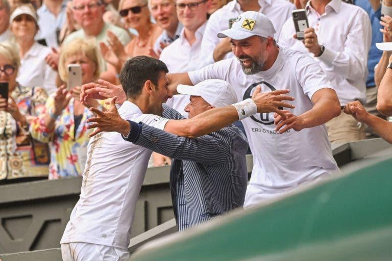 Ivanisevic: «Trabalhar com Djokovic é fácil? Dou o meu lugar durante uma semana e depois vemos…»